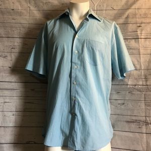 LIV Collection Baby Blue Button Down